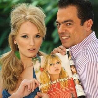 Biaggi ensina um look Brigitte Bardot