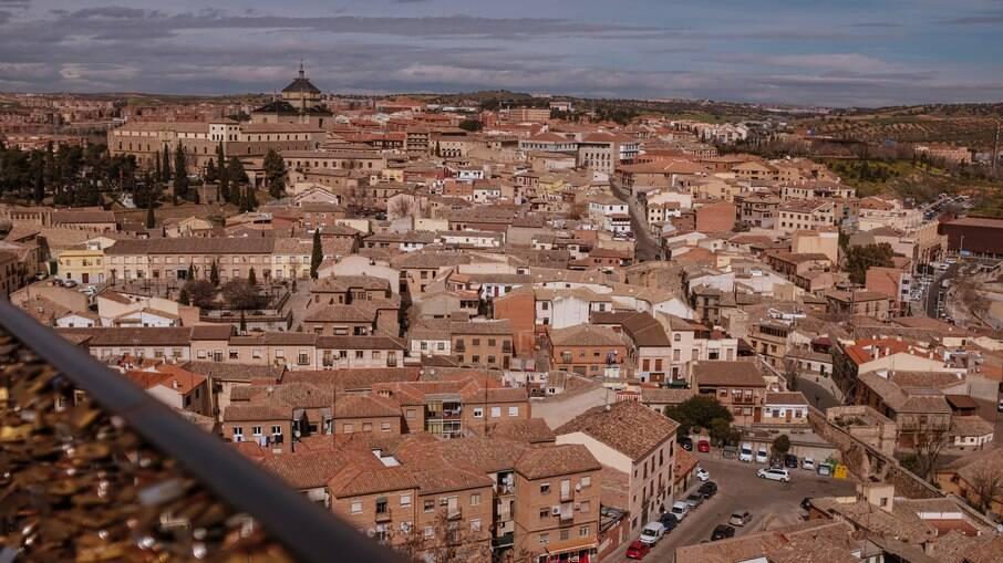 Toledo é uma cidade medieval na Espanha