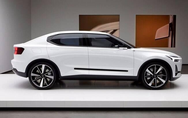 Volvo S40: versão conceitual antecipa como será o modelo de produção que deverá ser apresentado em 2019