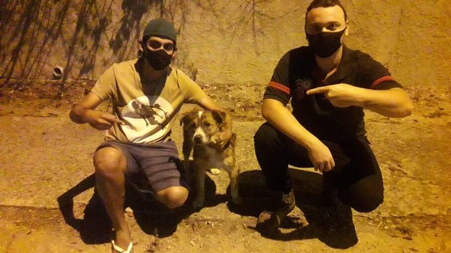 Gabriel Henrique, Armando Francisco e Tony se encontraram após o roubo inusitado