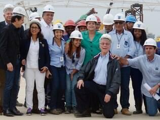 Comissão visita obras do Parque Olímpico, no Rio de Janeiro