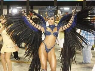 Sabrina Sato, rainha de bateria Vila Isabel