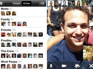 Aplicativo para iOS do Google+ permite o Hangouts