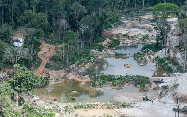 Acusados de garimpo ilegal em terra Munduruku pedem ao governo mineração no entorno da TI