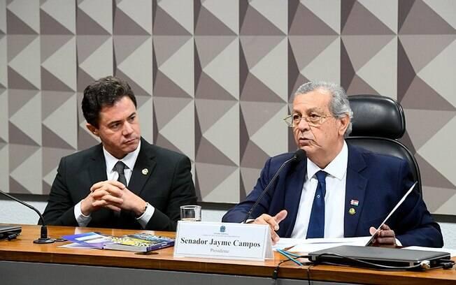 Os senadores Veneziano Vital do Rêgo e Jayme Campos presidirão o Conselho de Ética do Senado