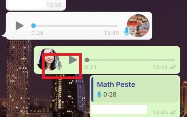 WhatsApp não mostra mais se áudios foram ouvido
