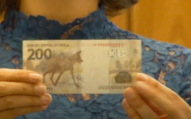 Nova nota de R$ 200, lançada hoje pelo BC