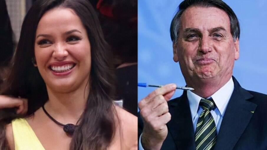 Juliette criticou Bolsonaro por veto a absorventes