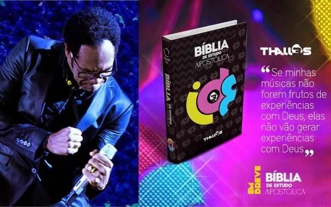Thalles Roberto lança Bíblia própria e gera polêmica na comunidade evangélica