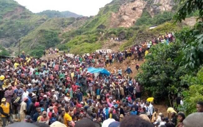 Pelo menos 50 pessoas morreram em mina de ouro no Congo