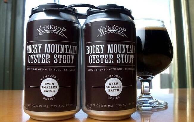Cervejas bizarras: a Rocky Mountain Oyster Stout é temperada com sal marinho e testículos de touro