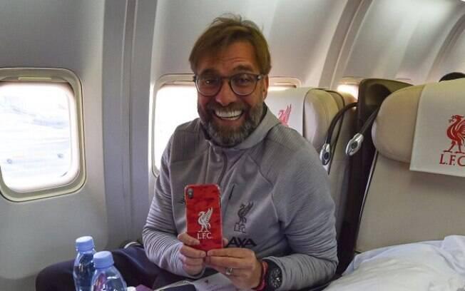 Jurgen Klopp, técnico do Liverpool