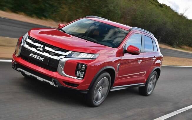 Mitsubishi ASX da linha 2020 tem a nova frente como principal mudança em relação ao modelo atual