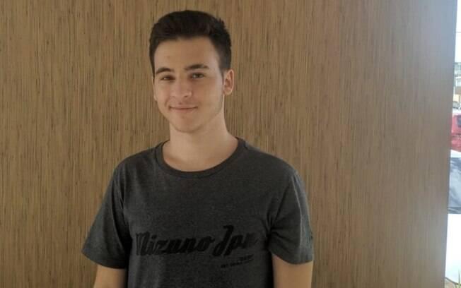 Lucas Alexsandro foi aprovado em curso ao qual não se candidatou