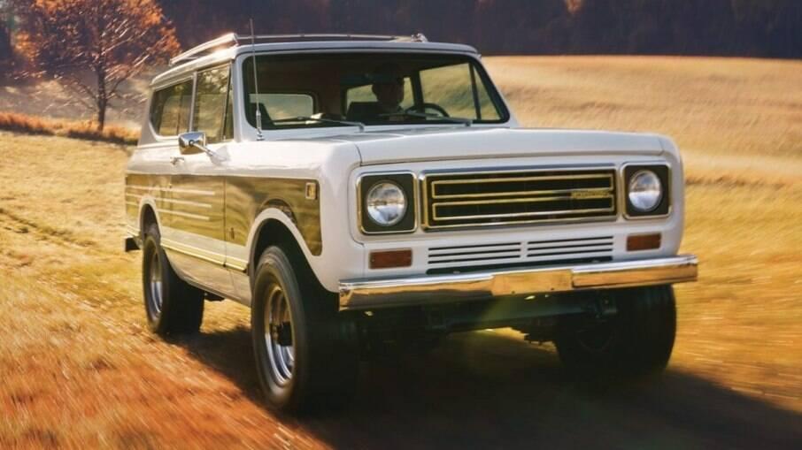 Internacional Scout fez sucesso nos anos de 1960 a 1980 no mercado estadunidense e foi o precursor dos SUV nos EUA