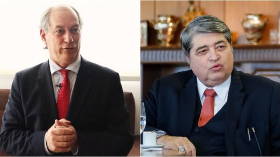 Ciro Gomes e Datena estariam discutindo aliança para 2022