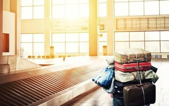 Para evitar roubos e furto é preciso ficar atento as malas