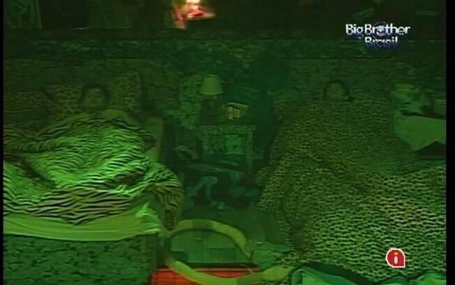 Brothers se preparam para dormir no Quarto Selva
