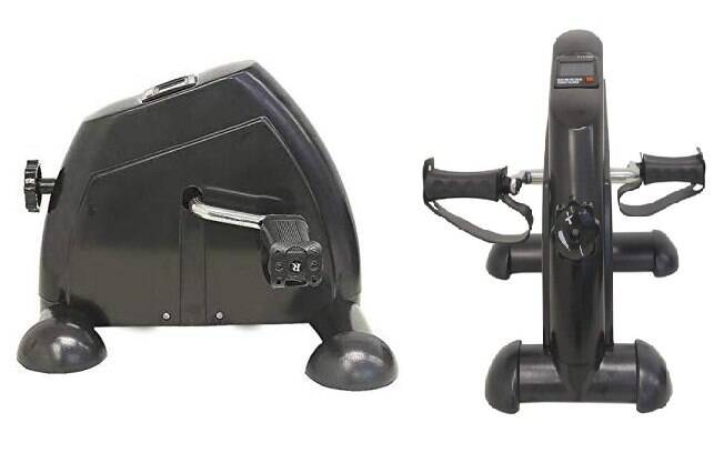Exercitador mini bike com monitor - R$ 346,26 com frete grátis