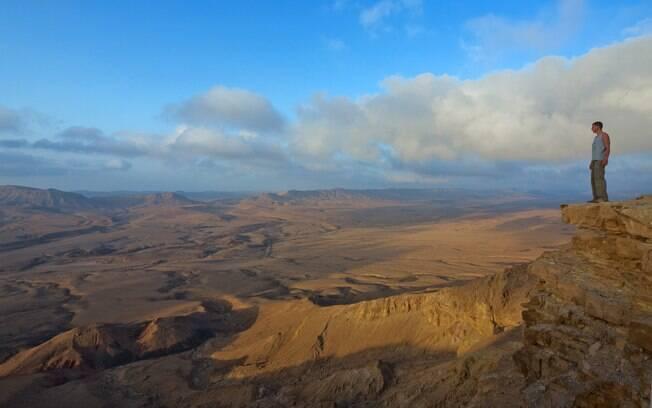 Se refletir está na sua lista de o que fazer em Israel, as paisagens de Negev são os planos de fundo ideais para isso