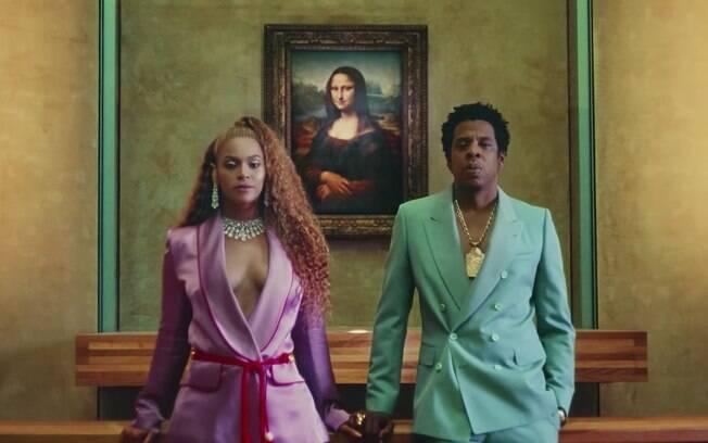 Beyoncé e Jay-Z mostraram em seu novo álbum conjunto,