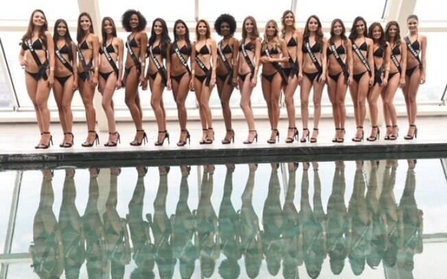 Candidatas do Miss São Paulo Be Emotion 2018