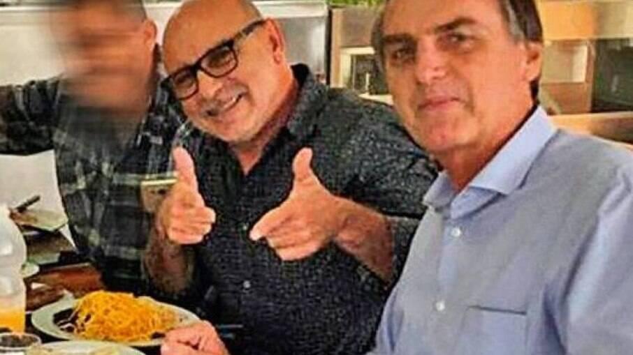 Fabrício Queiroz, braço direito do presidente Jair Bolsonaro e suposto operador do esquema de rachadinhas no gabinete de Flávio