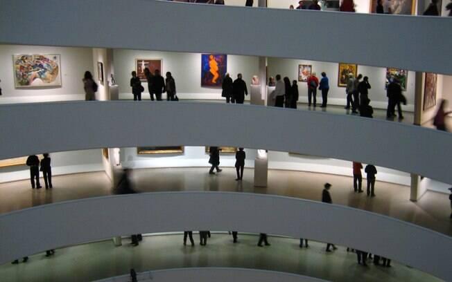Inclua o famoso Museu Guggenheim no seu itinerário