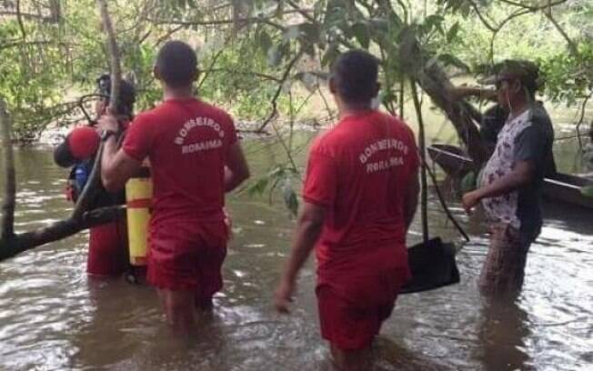 Segundo o Corpo de Bombeiros de Roraima, vítimas estavam pescando no momento do acidente com a canoa