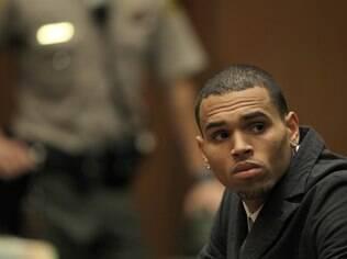 Chris Brown em audiência