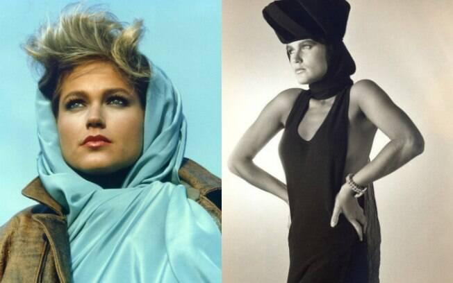Xuxa compartilhou fotos de quando era modelo na década de 1980