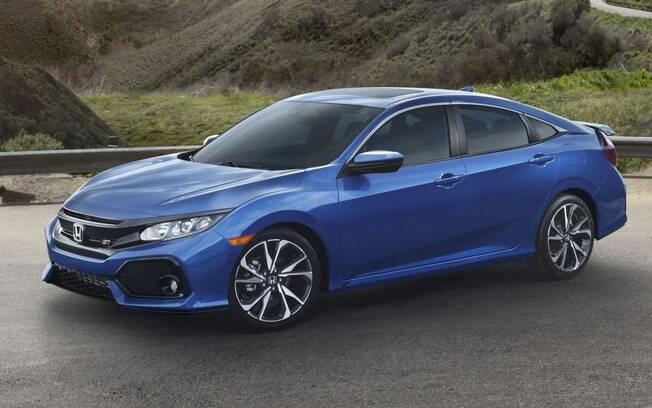 O novo Honda Civic Si será posicionado abaixo do Type R, disponível apenas como hatch. No Brasil, versão está em estudo