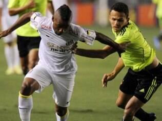Santos começou muito bem, mas mostrou nervosismo e acabou levando pressão do Leão