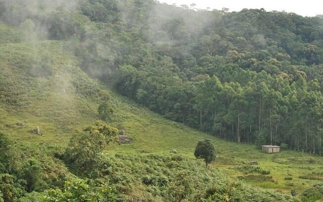De Cunha a Paraty há uma descida de 1.400 metros