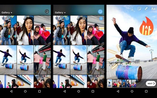 A atualização do Instagram também traz uma novidade para quem quer colocar a localização no seu stories; confira