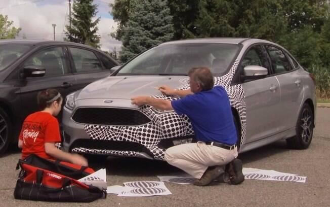 Ford mostra técnicas de camuflagem dos seus segredos