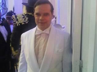 Diogo Vilela em baile de gala do Copacabana Palace