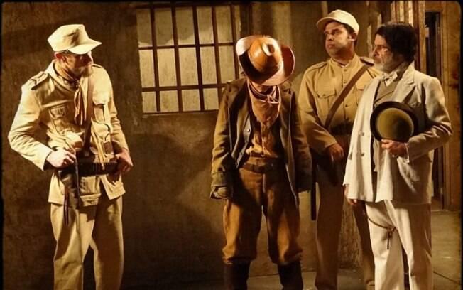 Soldados comandados pelo Tenente Arueira prendem Cocada