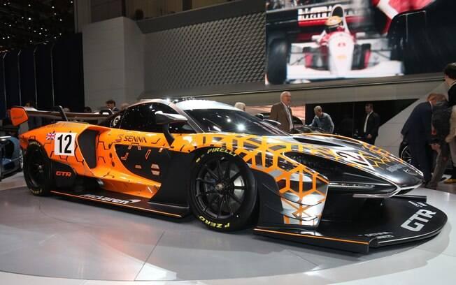 McLaren Senna é um dos supercarros que chamam atenção no evento que homenageou o tricampeão em 2018