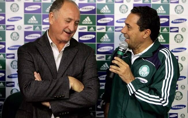 Em 2009, Felipão foi homenageado no Palmeiras  pelos 10 anos da conquista da Libertadores