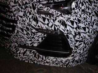 Detalhe da frente mostra que o Elantra Sport terá visual arrojado