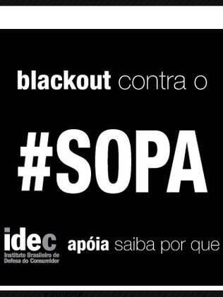 IDEC é outra entidade brasileira que escureceu site em protesto contra lei que censura web