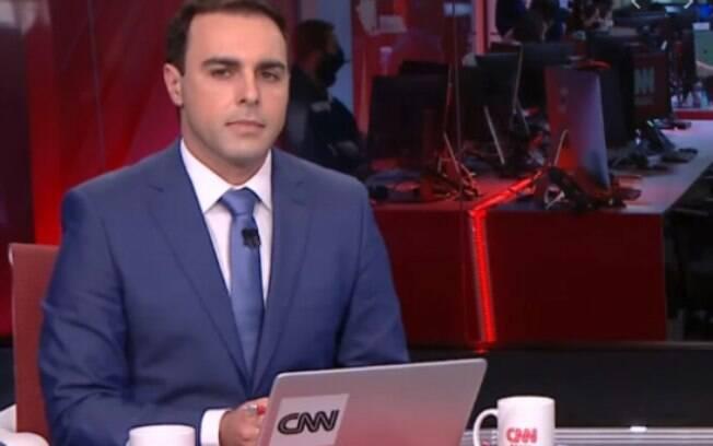 Rafael Colombo trocou a Band pela CNN Brasil