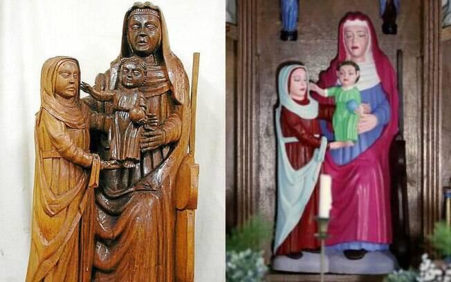 A restauração da escultura não chegou no resultado esperado e gerou a revolta de especialistas em arte