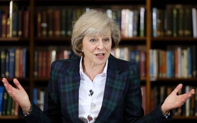 Theresa May disse que espera conseguir