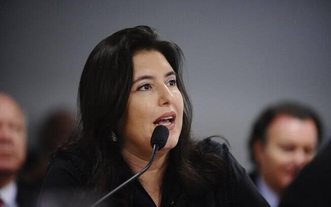 Senadora Simone Tebet (MDB-MS), presidente da CCJ