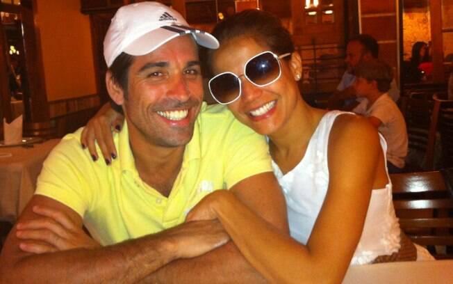 Nívea Stelmann e o namorado, Sanzio Gontijo
