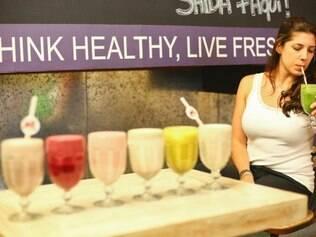 A nutricionista Pâmela Sarkis