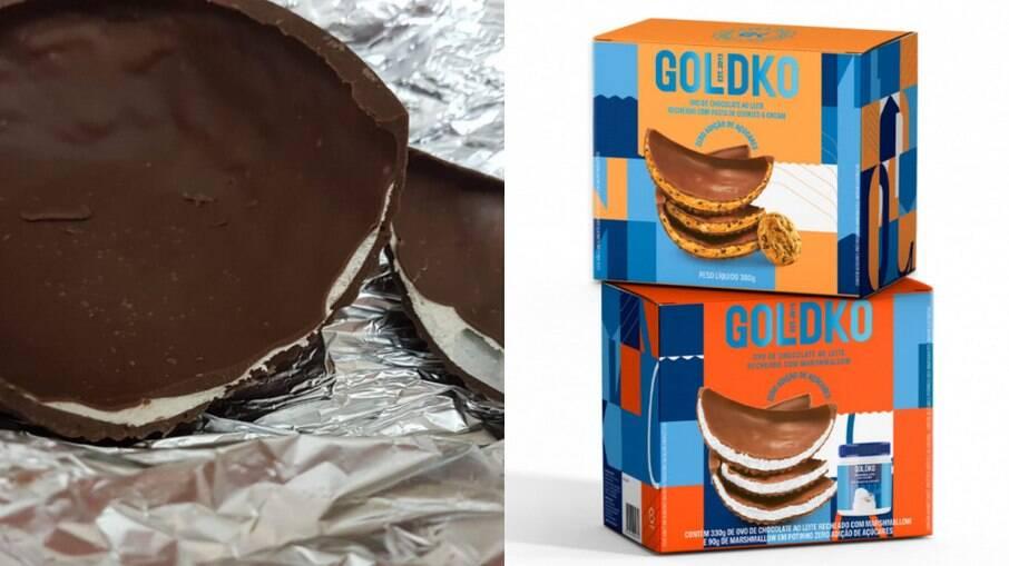 GoldKo trouxe ovos recheados