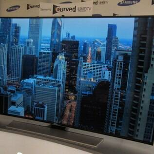 Samsung também aposta em TV 4K